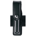 Leather Look Hand-Held Flashlight Holder