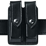 Leather Look Quad Magazine Pouch