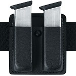 Leather Look Double Duty Open Top Magazine Pouch