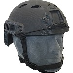 Black SRS Bump Helmet