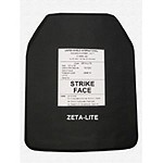 Zeta Lite 6H NIJ 06 Level IV Stand Alone Plate 10