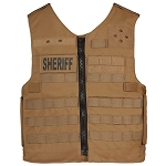 Front Opening Raid Vest Plate Carrier with MOLLE